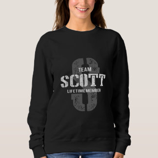Lustiges Vintages Art-T-Shirt für SCOTT Sweatshirt