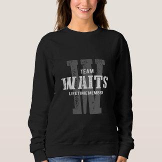 Lustiges Vintages Art-T-Shirt für WARTEZEITEN Sweatshirt