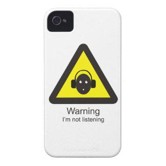 Lustiges warnendes Warnzeichen ': Ich bin nicht iPhone 4 Case-Mate Hüllen