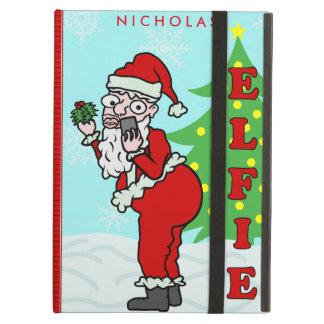 Lustiges Weihnachten Sankt Elfie personalisiert