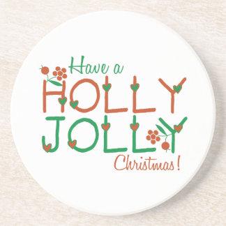 Lustiges Weihnachten Untersatz