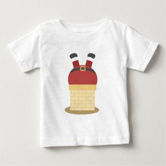 Lustiges Weihnachten Weihnachtsmann fest in Baby T-shirt