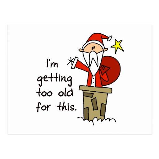 lustiges weihnachtsgeschenk postkarten zazzle