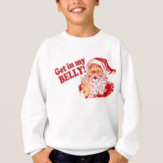Lustiges Weihnachtsmann-Weihnachten Sweatshirt
