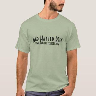 Lustiges wütendes Hutmacher-Riff-Shirt T-Shirt