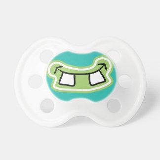 Lustiges Zähne-Monster-Grinsen Schnuller