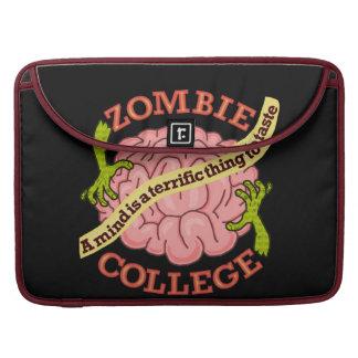 Lustiges Zombie-Uni-Logo Sleeve Für MacBook Pro