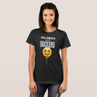 Lustiges Zunge-heraus Shirt Halloweens Emoji