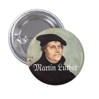 "Luther 1"" Knopf Runder Button 3,2 Cm"