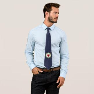 Luther Rosen-Marine-Blau-Krawatte Individuelle Krawatte