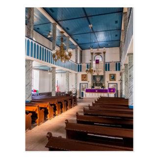 Lutherische Kirche St Paul - Serbin, TX - Postkarte