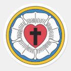 Lutherisches Wappen Aufkleber