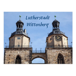 Lutherstadt Wittenberg Kirchen-Foto St. Mariens Postkarte