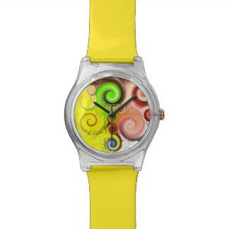 """Lutschbonbonstrudel "" Armbanduhr"