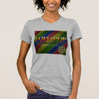 Lutscher-Industrie-Damen-T - Shirt