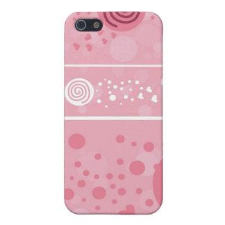 Lutscher-Rosa - i iPhone 5 Etui