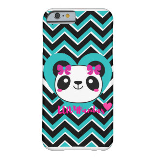 """LUV4Pandas"" Panda, Herzen u. Liebe iPhone Fall Barely There iPhone 6 Hülle"