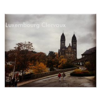 Luxemburg Clervaux Poster