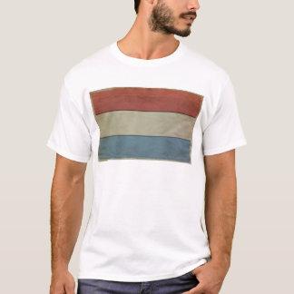 Luxemburg kennzeichnen (grunged) T-Shirt