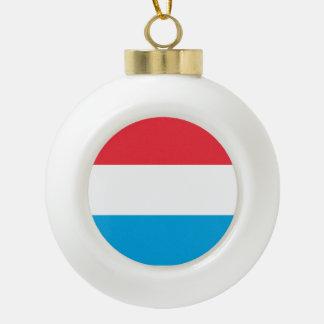 Luxemburg kennzeichnen keramik Kugel-Ornament
