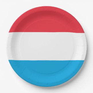 Luxemburg kennzeichnen pappteller
