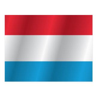 Luxemburg kennzeichnen postkarte