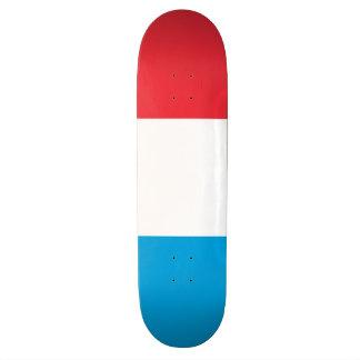Luxemburg kennzeichnen skateboardbrett