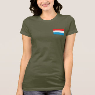 Luxemburg kennzeichnen und zeichnen DK-T - Shirt