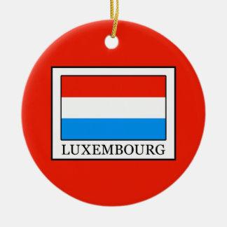 Luxemburg Keramik Ornament