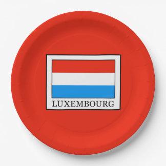 Luxemburg Pappteller