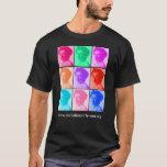Luxemburg-Pop-Kunst T-Shirt