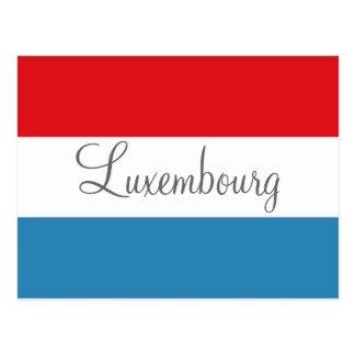 Luxemburg-Postkarte Postkarte