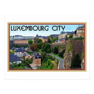 Luxemburg-Stadt Postkarte