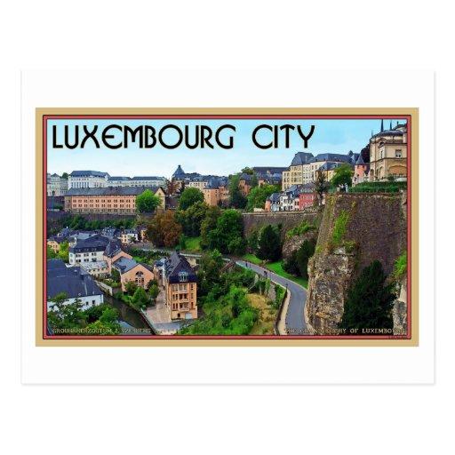Luxemburg-Stadt Postkarten