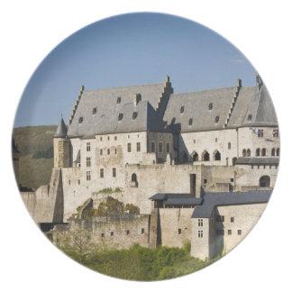 Luxemburg, Vianden. Vianden Chateau (B. 15. Teller