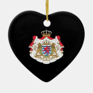 Luxemburg-Wappen Keramik Ornament