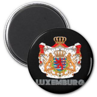 Luxemburger-Emblem Runder Magnet 5,7 Cm