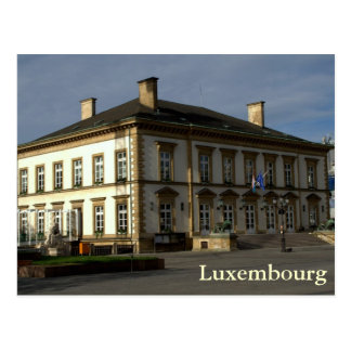 LuxemburgRathaus Postkarte