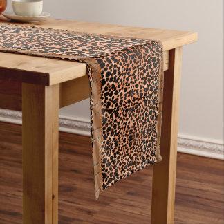 Luxuriöser Leopard-Tabellen-Läufer Kurzer Tischläufer