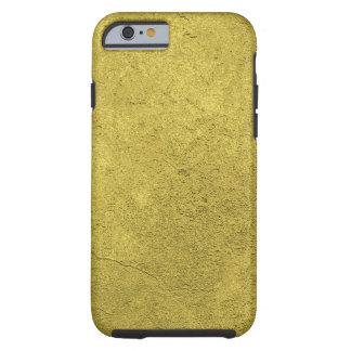 Luxuriöses Gold eingetauchte gemusterte Elektronik Tough iPhone 6 Hülle