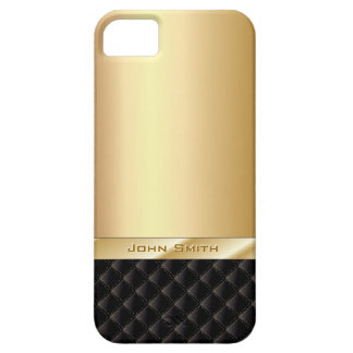 Luxuriöses Gold mit individuellem Namen Barely There iPhone 5 Hülle