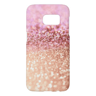 Luxus funkelnde rosa Ombre Glitzer-Steigung