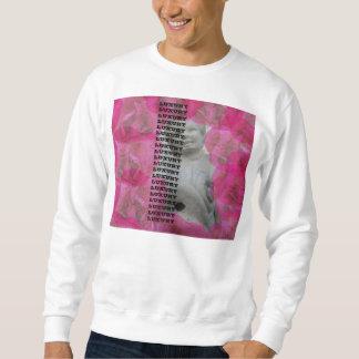 LUXUSRosen u. Statue Sweatshirt