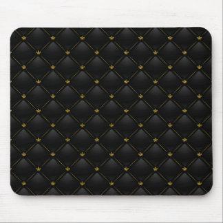 Luxusschwarzes 01 mousepad