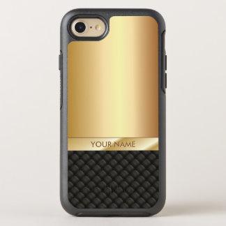 Luxusschwarzes u. Goldnamenselegantes OtterBox Symmetry iPhone 8/7 Hülle