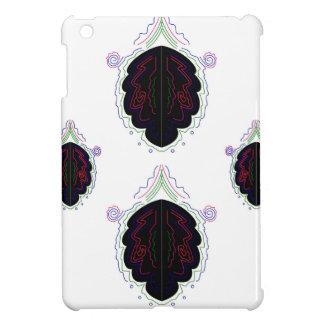 Luxusschwarzweiss-Mandala iPad Mini Hülle
