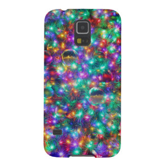Luxusweihnachtsfunkelnde Sterne Samsung S5 Hülle