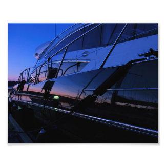 Luxusyacht-Fotodruck Fotografien
