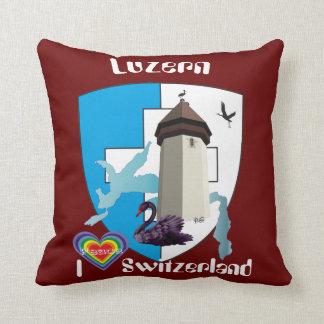 Luzern Schweiz Switzerland Kissen