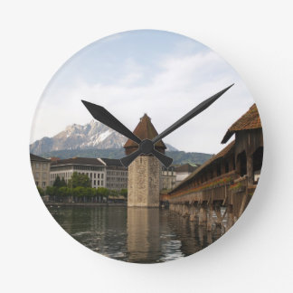 Luzern Schweiz Wanduhr